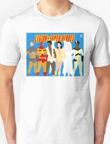 Legion of Super-Heroes Minimal 5 Unisex T-Shirt
