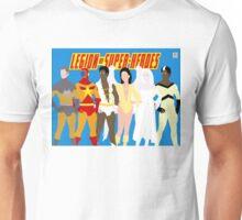 Legion of Super-Heroes Minimal 5 Unisex T-Shirt