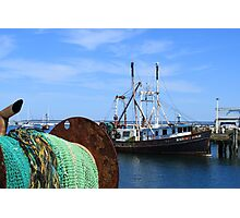 Old fishing ship Photographic Print