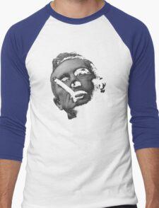 Dr Strlove - Black Transparency Men's Baseball ¾ T-Shirt