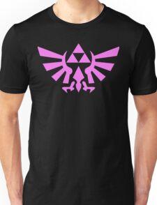 Triforce (Pink) Unisex T-Shirt