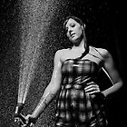 A Girl Getting Wet! by busidophoto