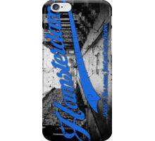 Hamsterdam - Cloud Nine Edition (Blue) iPhone Case/Skin