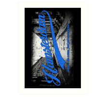 Hamsterdam - Cloud Nine Edition (Blue) Art Print