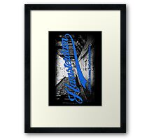 Hamsterdam - Cloud Nine Edition (Blue) Framed Print