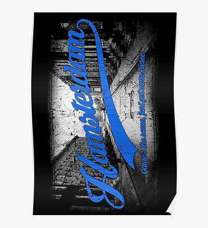 Hamsterdam - Cloud Nine Edition (Blue) Poster