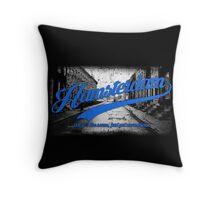 Hamsterdam - Cloud Nine Edition (Blue) Throw Pillow