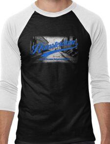 Hamsterdam - Cloud Nine Edition (Blue) Men's Baseball ¾ T-Shirt