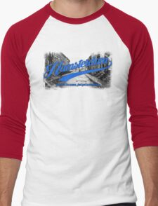 Hamsterdam - Cloud Nine Edition (Blue) Men's Baseball ¾ T-Shirt