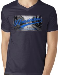 Hamsterdam - Cloud Nine Edition (Blue) Mens V-Neck T-Shirt