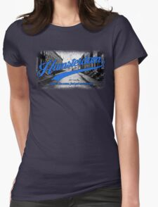 Hamsterdam - Cloud Nine Edition (Blue) Womens Fitted T-Shirt