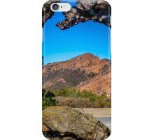 Red Rock Cliffs iPhone Case/Skin