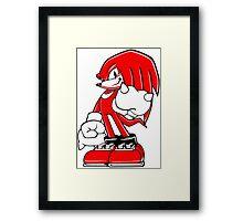 Minimalist Modern Knuckles 2 Framed Print