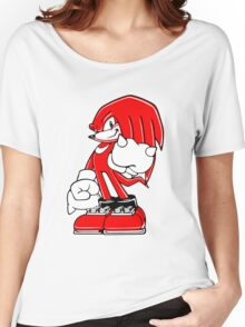 Minimalist Modern Knuckles 2 Women's Relaxed Fit T-Shirt