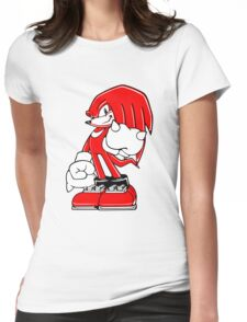 Minimalist Modern Knuckles 2 Womens Fitted T-Shirt