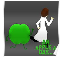 An Apple A Day Poster