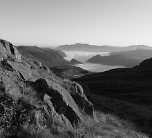 Looking to Skiddaw by Rich Gale