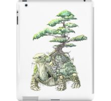 Turtle bonsaii iPad Case/Skin