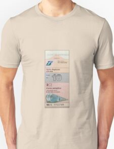 Italian Train Ticket T-Shirt