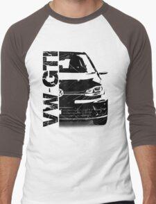 vw gti Men's Baseball ¾ T-Shirt