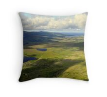 View from the Conor Pass. Throw Pillow