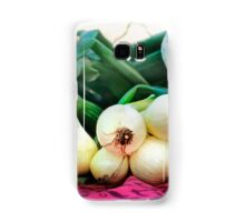Fresh Onions Samsung Galaxy Case/Skin