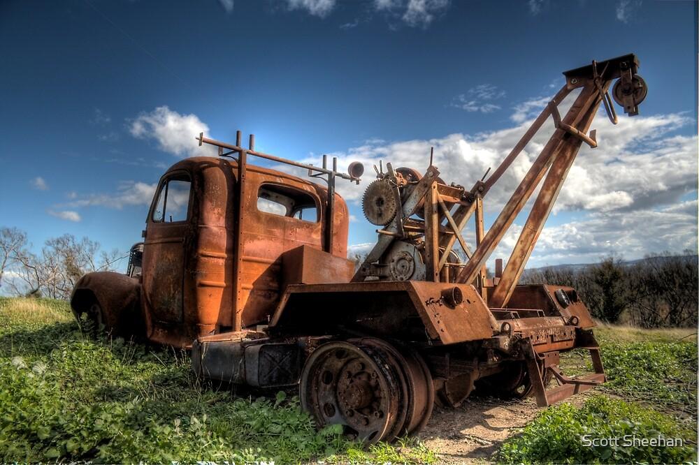 Bedford Truck Kinglake West by Scott Sheehan