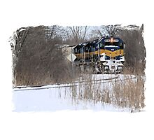 Engine No. 6446 Photographic Print