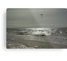 Silver Surfer - Troon Beach Metal Print