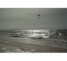 Silver Surfer - Troon Beach Photographic Print