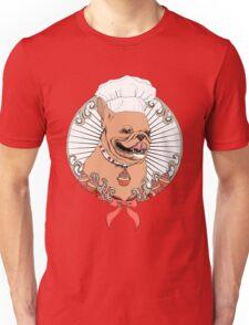 Pastry Cook Bulldog Unisex T-Shirt