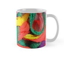 Colorful yarn pattern Mug