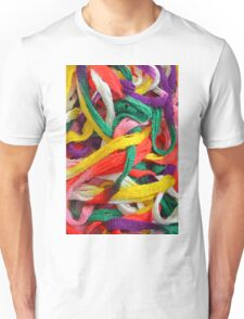 Colorful yarn pattern Unisex T-Shirt