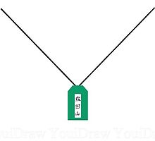 Space Dandy Necklace by zipperboi