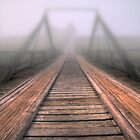 Bridge to fog by Veikko  Suikkanen