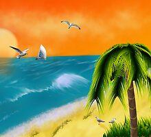 Hawaiian Sunset by Sandra Chung