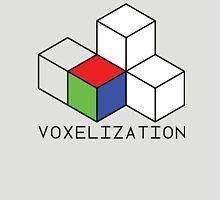 Pixel 3D Voxelization Nerd Computer Graphic Render Unisex T-Shirt