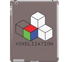 Pixel 3D Voxelization Nerd Computer Graphic Render iPad Case/Skin