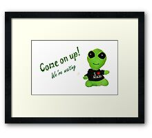 Little Alien Framed Print
