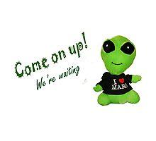 Little Alien Photographic Print