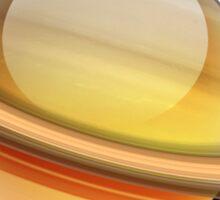 Saturn Marble Sticker