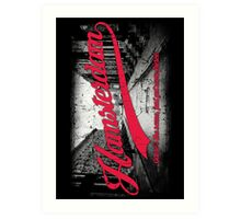 Hamsterdam - Cloud Nine Edition (Red) Art Print