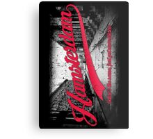 Hamsterdam - Cloud Nine Edition (Red) Metal Print