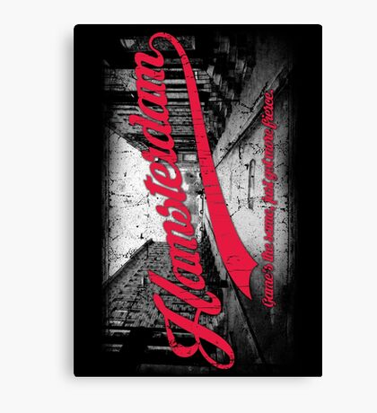 Hamsterdam - Cloud Nine Edition (Red) Canvas Print