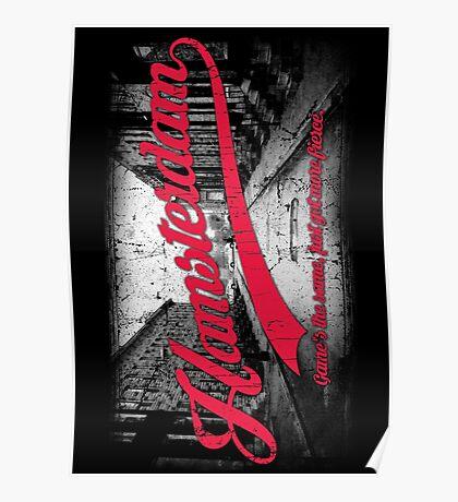 Hamsterdam - Cloud Nine Edition (Red) Poster