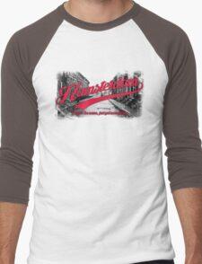Hamsterdam - Cloud Nine Edition (Red) Men's Baseball ¾ T-Shirt