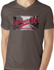 Hamsterdam - Cloud Nine Edition (Red) Mens V-Neck T-Shirt