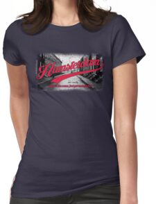 Hamsterdam - Cloud Nine Edition (Red) Womens Fitted T-Shirt