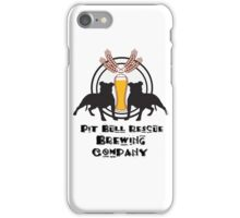 Pit Bull Rescue Brewing Company iPhone Case/Skin