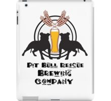 Pit Bull Rescue Brewing Company iPad Case/Skin